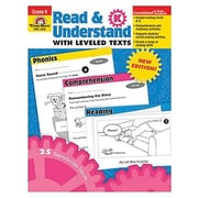 Evan-Moor Read And Understand with Leveled Texts Teacher Resource Book