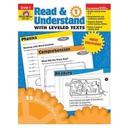 Evan-Moor® Read and Understand With Leveled Texts Teacher Resource Book, Grades 1st