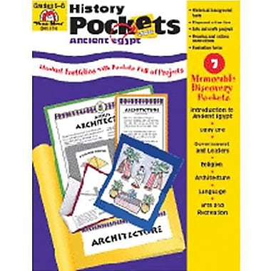Evan-Moor® History Pockets Ancient Egypt Resource Book, Grades 4th - 6th