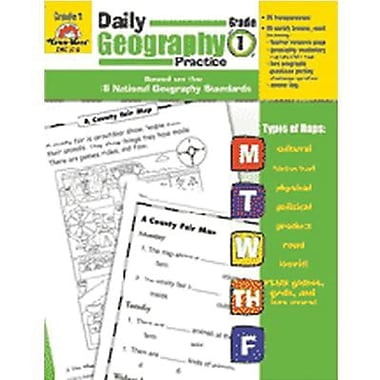 Evan-Moor® Daily Geography Practice Resource Book, Grade 1 (EMC3710)