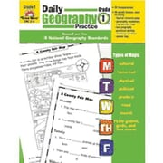 Evan-Moor® Daily Geography Practice Resource Book, Grades 1st