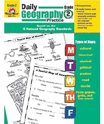 Daily Geography Practice Resource Book, Grade 2