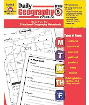 Daily Geography Practice Resource Book, Grade 5