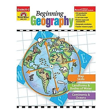 Evan-Moor Beginning Geography Resource Book, Kindergarten - 2 (EMC3727)