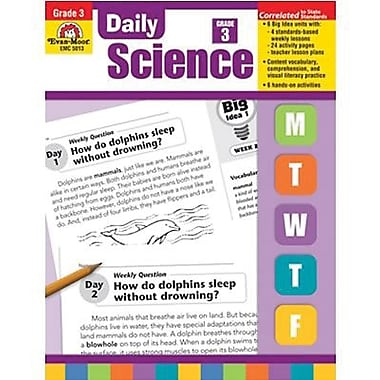 Evan-Moor® Daily Science Acitivity Book, Grades 3rd
