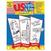 Evan-Moor® U.S. Facts and Fun Resource Book, Grades 4th - 6th