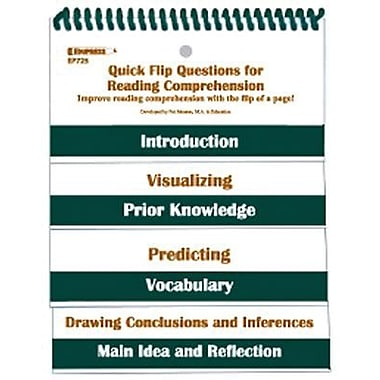 Edupress Quick Flip Questions For Reading Comprehension (EP-725)