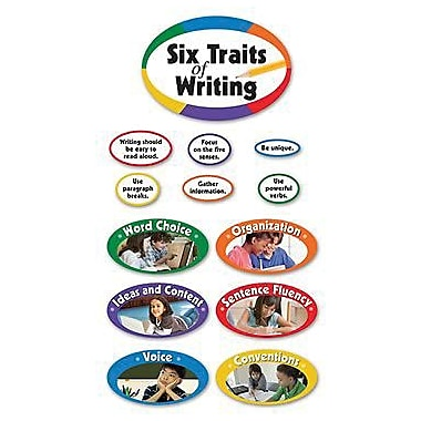 Edupress® Bulletin Board Set, Six Traits of Writing