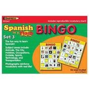 Edupress® Spanish In A Flash Bingo Game Set 3, Grades Kindergarten - 3rd