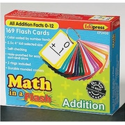 Edupress® Math In A Flash Color-Coded Flash Cards, Addition