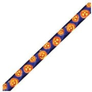 Edupress® pre-school - 12th Grades Straight Photo Border, Jack-o-Lanterns