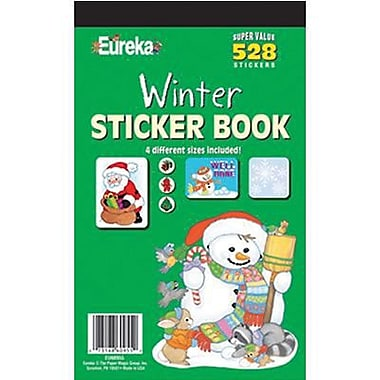 Eureka® Stickers Book, Winter