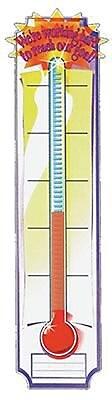 Eureka® Straight Goal Setting Thermometer Banner, 45