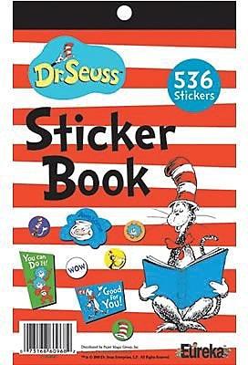 Cat in the Hat™ Sticker Book, 5 3/4