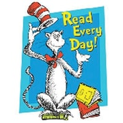 Eureka® Window Cling, Cat In The Hat Read Every Day