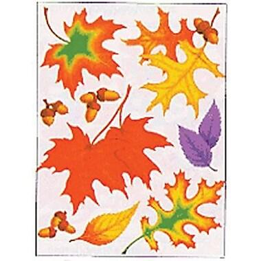 Eureka Window Cling, Fall Leaves, 108/Pack (EU-836550)