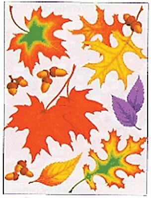 Eureka® Window Cling, Fall Leaves