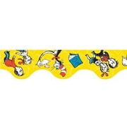 "Eureka 845018 37"" x 2.25"" Scalloped Cat in the Hat Trim, Yellow"