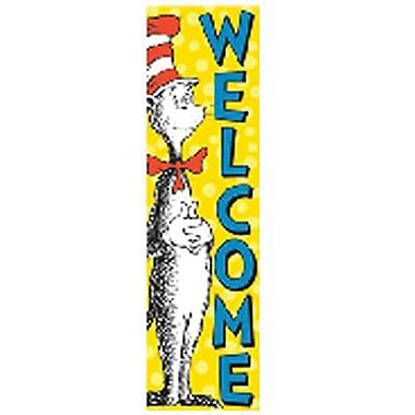 Eureka Cat In The Hat™ Cat In The Hat Welcome Vertical Banner (EU-849664)