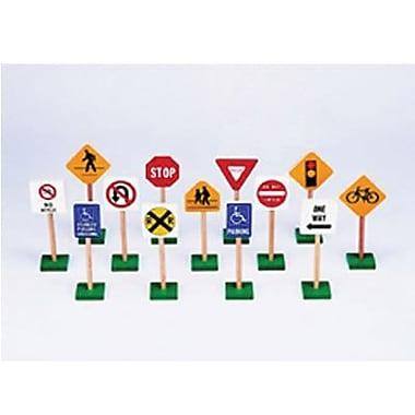 Block Play Traffic Signs, 7
