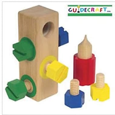 Guidecraft Screw Block (GD-2003)
