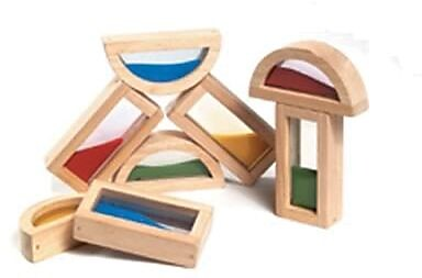 Guidecraft® Rainbow Blocks, Sand