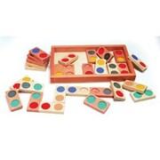 Guidecraft® Science Game, Texture Dominoes