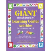 GRYPHON The GIANT Encyclopedia of Learning Center Activities Book, Grades pre-kindergarten