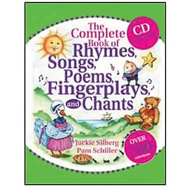 Gryphon Rhymes, Songs, Poems, Fingerplays, And Chants Book And Cd Set, Grades Pre School - 2nd