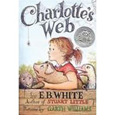 Harper Collins Charlottes Web Book By E.B. White, Grades All
