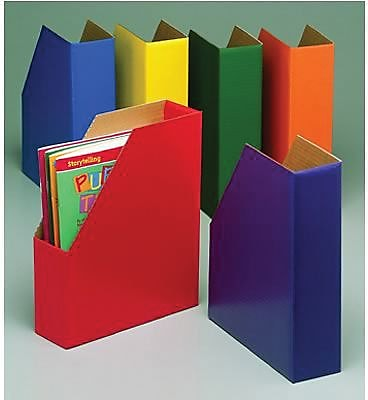Edupress® Magazine Files, Assorted, 6/Pack