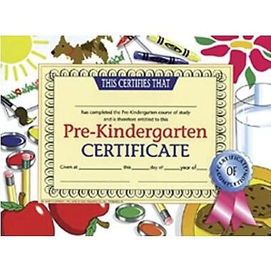 Hayes Pre-kindergarten Certificate, 8 1/2