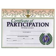 "Hayes Certificate Of Participation, 8 1/2"" x 11"" Grades 1st - 9th, 90/Pack (H-VA533)"