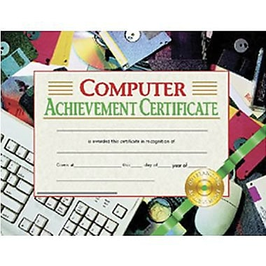 Hayes® Computer Achievement Certificate, 8 1/2