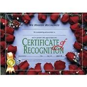 "Flipside White Border Certificate Of Recognition, 8 1/2"" x 11"", 30/Pack (H-VA537)"