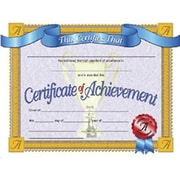 Flipside – Certificat de réussite à bordure blanche, 30/paquet (H-VA608)