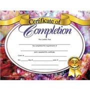 """Flipside Certificate Of Completion, 8 1/2"""" x 11"""", Kindergarten - 9th, 90/Pack (H-VA624)"""