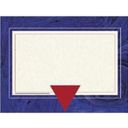 "Hayes® 8 1/2"" x 11"" Certificate, Blue Marble Border"