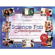 "Hayes Science Fair Participation Certificate, 8 1/2"" X 11"", 90/Pack (H-VA672)"