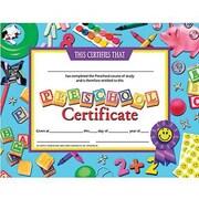 """Hayes® pre-school Certificate, 8 1/2""""(L) x 11""""(W)"""