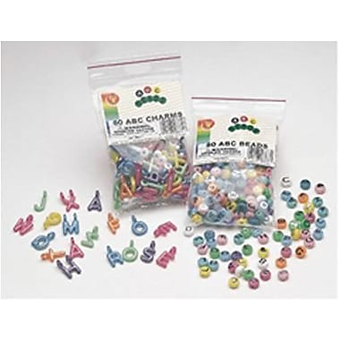 Hygloss® ABC Beads and Charms, All