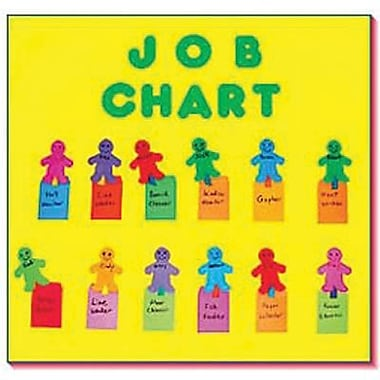 Hygloss Attendance/Job Bulletin Board Chart Kit (HYG77783)