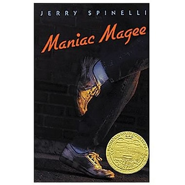 Paperback Maniac Magee Book By Jerry Spinelli, Grades 4th - 7th