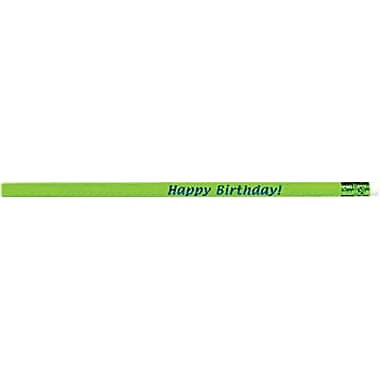 Birthday Glitter Assortment Pencils, Dozen