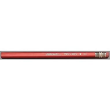 Moon Products Try Rex® Jumbo Pencil With Eraser, Dozen (JRMB21T)