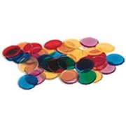 Learning Resources Transparent Colour Counting Chips, 1500/Pack (LER0131)