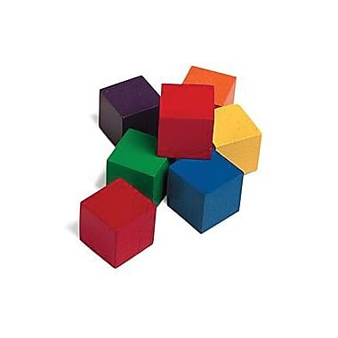Learning Resources® One-inch Wooden Colour Cubes