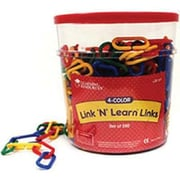 Learning ResourcesMD Link N LearnMD – Contenant de maillons, ensemble de 500