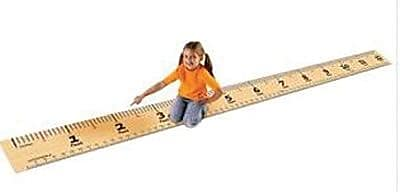 Learning Resources® Step-By-Step Measurement Mat (LER0371)