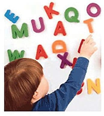 Jumbo Magnetic Letters and Numbers, Uppercase Letters